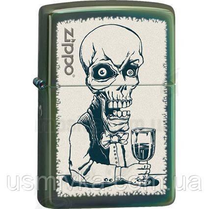 Бензиновая зажигалка Zippo 28679 Skeleton Bartender.