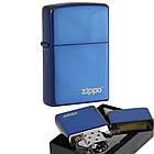 Зажигалка бензиновая Zippo 20446 ZL Sapphire Сапфир., фото 2