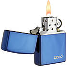 Зажигалка бензиновая Zippo 20446 ZL Sapphire Сапфир., фото 3