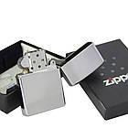 Бензиновая зажигалка Zippo 20363 Frame (Пламя), фото 4