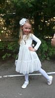"""Очень красивое и нежное гипюровое платье """"Скарлет"""" прокат, фото 1"""