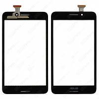 Сенсорный экран (touchscreen) для Asus MeMO Pad 7 LTE ME375CL, черный, оригинал