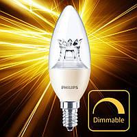 Светодиодная лампа Philips MAS LEDcandle DT 6-40W E14 B38 CL_AP