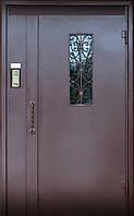 Дверь домофонная с окном