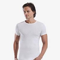 Спортивная мужская футболка белая. FO17911048