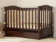 Детские кроватки для новорожденных с маятником