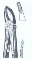 Щипцы экстракционные для верхних премоляров (Пакистан) NaviStom
