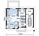Дом из газобетона, газобетон цена, стоимость дома из газобетона, строительство в Днепре, строительство в Киеве, фото 3