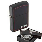 Зажигалка бензиновая Zippo 218 ZB BLACK MATTE (Черная матовая)., фото 2