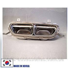 Насадка на глушитель Hyundai Veloster 2012-16 новая оригинал