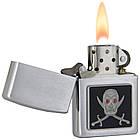 Бензиновая зажигалка Zippo 20881  PIRATE (Пират)., фото 3