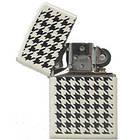 Зажигалка Zippo 24888 HOUNDSTOOTH белая 24888, фото 2