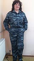 Костюмы для охраны, мужские, камуфлированные, пиксель, куртка и брюки