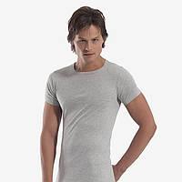 Серая мужская футболка рибана Oztas.