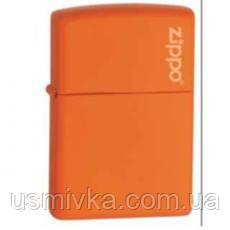 Зажигалка Zippo 231ZL ORANGE MATTE оранжевая 2312612