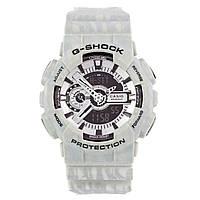 Спортивные наручные часы Casio G-SHOCK GA110SL с белыми разводами