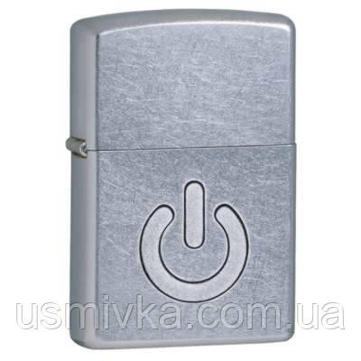 Зажигалка бензиновая Zippo 28329 Power Button Кнопка питания.