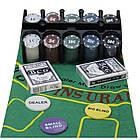 Покерный набор 200 фишек в железной коробке. PN62021, фото 2