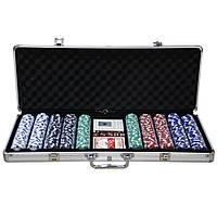 Покерный набор 500 фишек, в подарок. PN62024