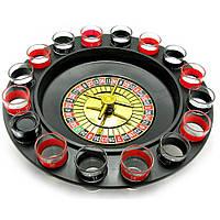 Игра алко рулетка на 16 рюмок и 2 шарика.