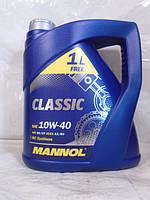 Масло 10W40 синтетика MANNOL Classic SN 4л