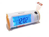 Электронные цифровые настольные часы с проектором CW8097