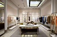 Визуализация интерьера магазина одежды