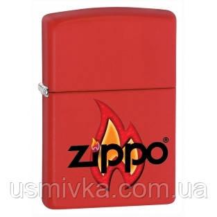 Зажигалка бензиновая Zippo 28571 ZIPPO FLAME, огонек.