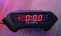 Электронные цифровые настольные часы с радио CR-806P