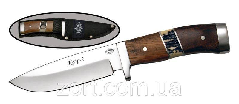 Нож с фиксированным клинком Кедр-2
