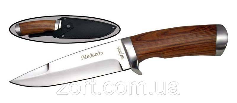 Нож с фиксированным клинком Медведь