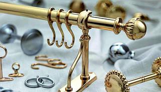 Аксессуары и комплектующие для кованых карнизов 19 мм