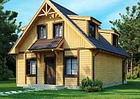 Дом из пено- газобетона, стоимость дома, цена на дом из пенобетона, дом из ячеистых бетонов в Днепре, фото 1