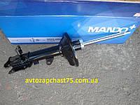 Амортизатор подвески задней, левый газовый KIA CERATO 05-  производство Mando, Южная Корея