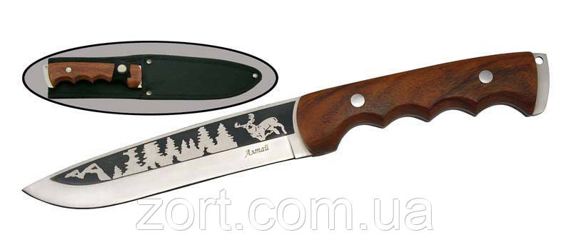 Нож с фиксированным клинком Алтай-3