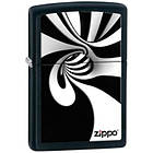 Зажигалка Zippo 28297 Spiral Black & White черная 28297, фото 2