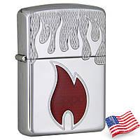 Бензиновая зажигалка Zippo 20993 Zippo Inferno Armor (Армированная)., фото 1