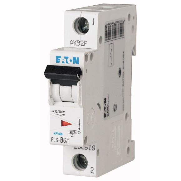 Автоматический выключатель Eaton (Moeller) PL4-C20/1 (293125)