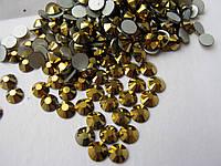 Стразы ss30 Gold 288шт. (6,4-6,6мм)