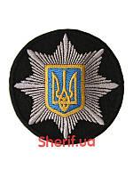 Кокарда Полиция с гербом (круглый) 7790м