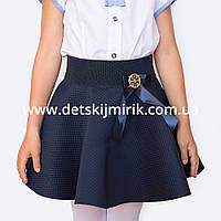 "Юбка для девочки для школы, на праздник  ""Монро""  нарядная, фото 1"