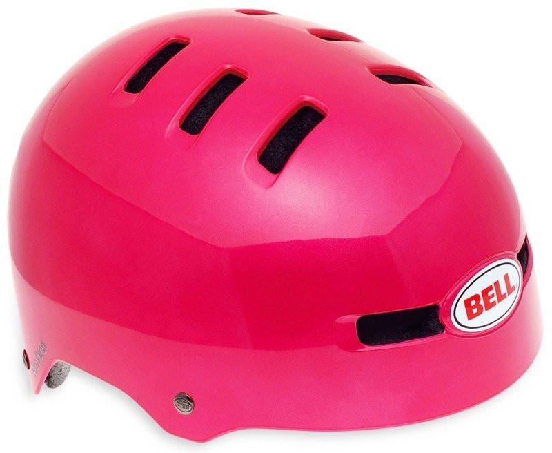 Велошлем Bell Faction яркий/розовый (GT)