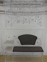 Кованый набор мебели в прихожую  -  034, фото 1