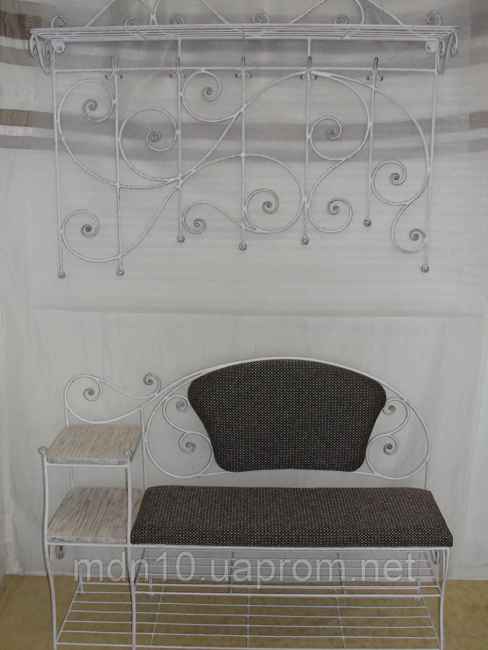 """Кованый набор мебели в прихожую  -  034 - TM """"Modnastal"""" - художественная ковка и металлоконструкции в Хмельницком"""