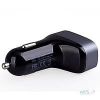 Зарядное устройство Momax Polar Light Series Trial USB Car Charger 4.4A Black (UC5D)