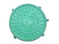 Люк смотровой дачн.0,5 т (зеленый) - Мпласт