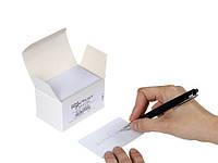 Карта PVC BLANK CARDS WITH WRITABLE BACK - 20MIL (есть поле для подписи)
