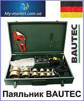 Паяльник для полипропиленовых труб BAUTEC bkp-2000e