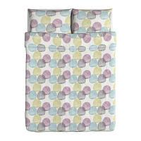"""IKEA """"МАЛИН РУНД""""  Комлект постельного белья, разные цвета, 160x200/70x80 см"""