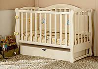 Детская кроватка для новорожденных Prestige 5 маятник, фото 1